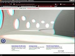 DOME in VRML anaglyph 3d mode