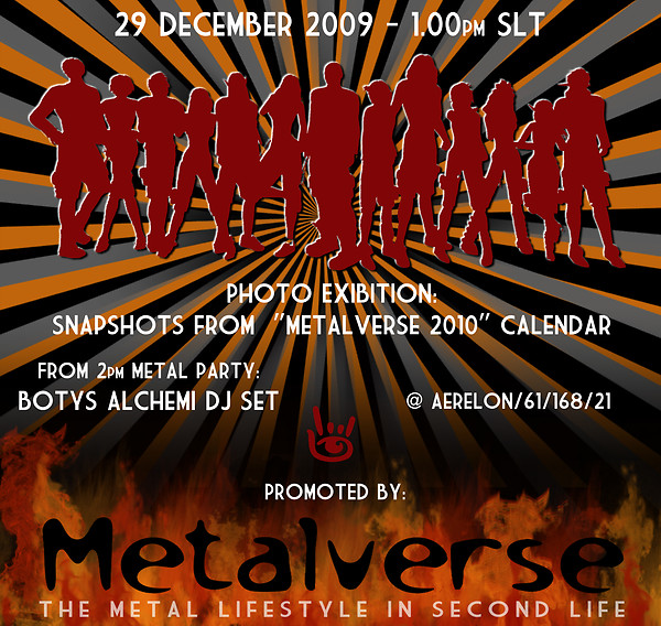 flyer photo exibition metalverse 29/12/2009 - 2.00pm SLT