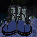 Winterfell Illyria Ice Ring in Winter