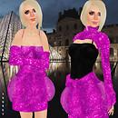 Prism 2009 Audrey sequins in fushia