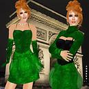 Prism 2009 Audrey sequins in green