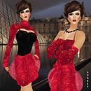 Prism 2009 Audrey sequins in red