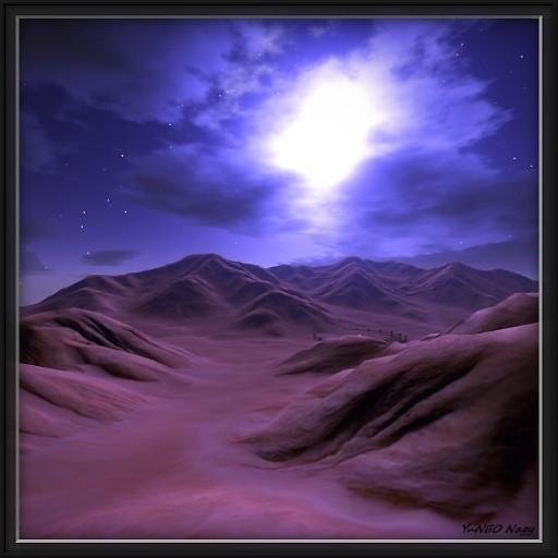 The Martian desert