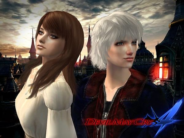 (Dmc4) Nero and Kyrie - request