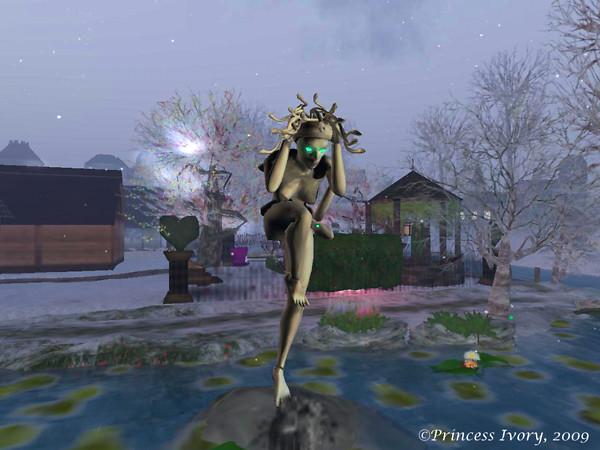 Medusa in a Blizzard in Winterfell Amaranthine