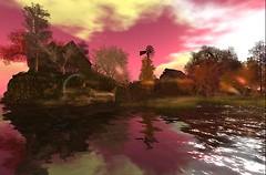 Pink reflexion - Raul Crimson