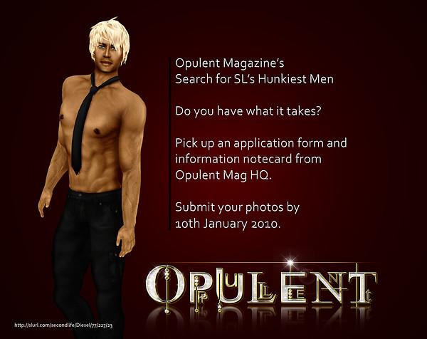 Opulent Magazine SL Hunk Search