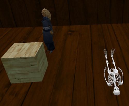 Attic skeleton