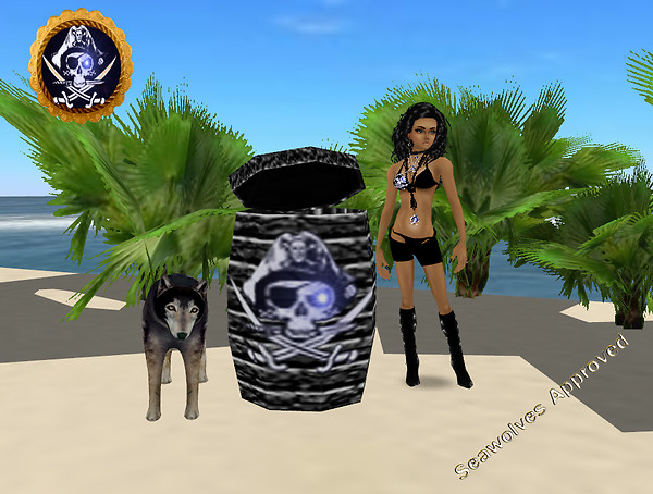 (EOE) Seawolves Black Hide Barrel