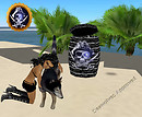 (EOE) SEAWOLVES BLACK HIDE BARREL