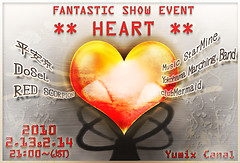 FANTASTIC SHOW EVENT ** HEART ** Poster