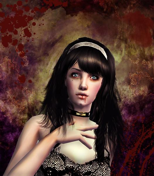 Vampire's rose