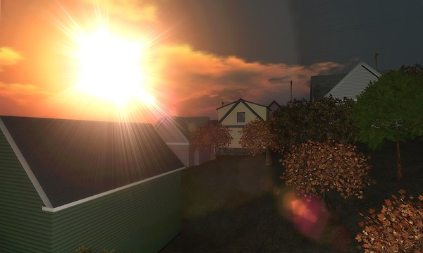 i just couldn't resist doing a lens flare here - Torley Linden