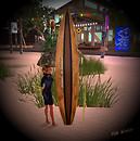 Niki with Board