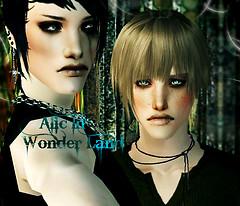 Alic in wonderland Promo Art