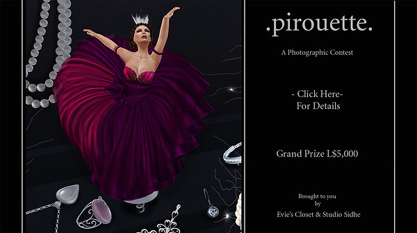 Pirouette photo contest poster