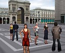 Milano virtuale - 3D chat world