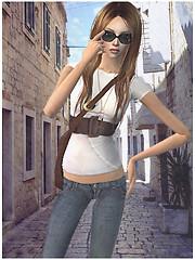 streets of Trogir