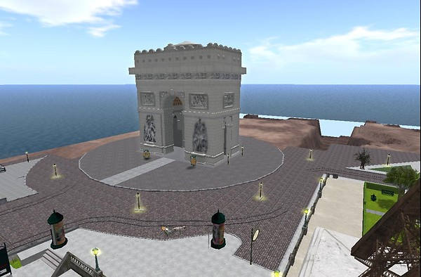 Arc de Triomphe - Spiral Theas