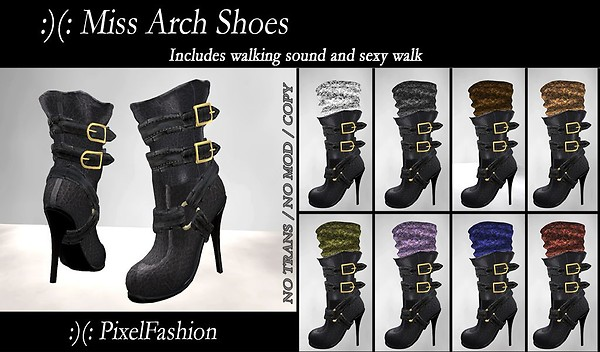 Miss arch shoes