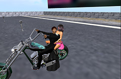 Riding the Ghost Chopper