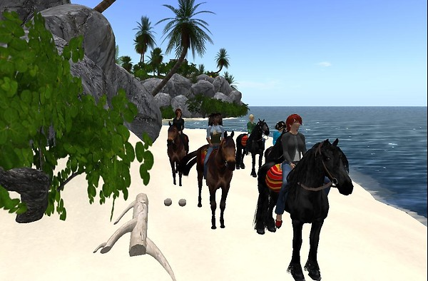 SL Educators Group visiting Chichenitza (Session 3) - on the beach