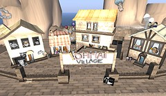 A cute village in the metaverse - Koinup Burt