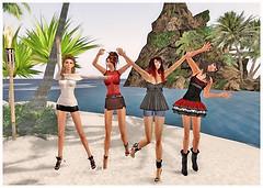 L.O.V.E. Denise, Annika, Maven, and Lyra