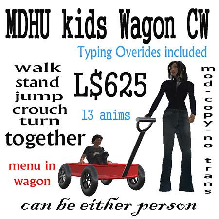 KidWagonCouplesWalk