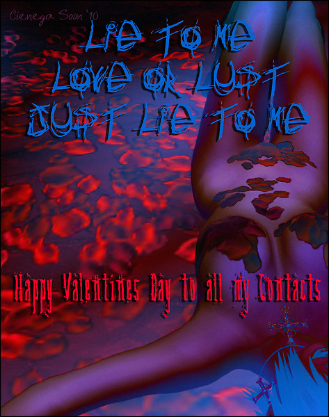 Happy Love & Lust Valentines Day