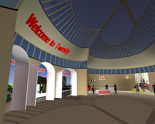 New Twinity Welcome Center