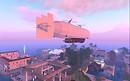 Airship in twilight 1