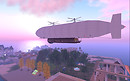 Airship in twilight 2