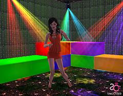 Sims2Cri Next Model - Eveline Sassi - Wearing SC Style