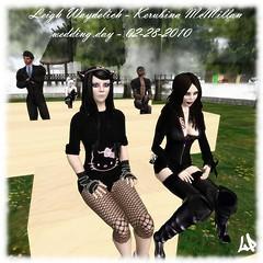 Matrimonio Kerubina-Leigh