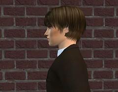 Sims2Cri Next Model - Cornelius De Giovanni - Profilo (II)