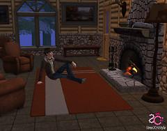 Sims2Cri Next Model - Cornelius De Giovanni - Wearing S2C Style