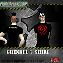 NDN - Classix Collection - Grendel T-shirt