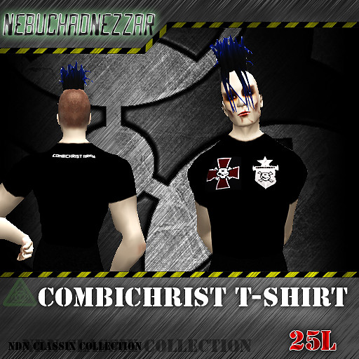 NDN - Classix Collection - Combichrist T-shirt