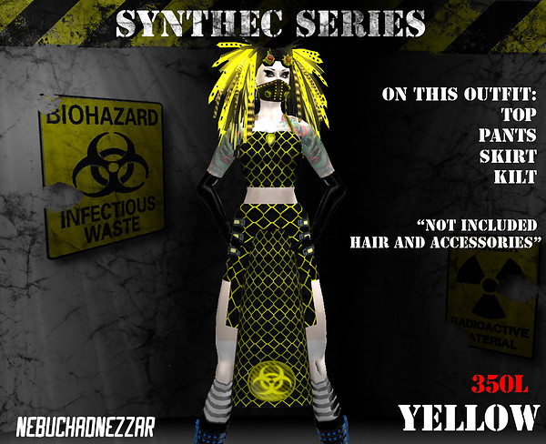NDN - SynThec female yellow