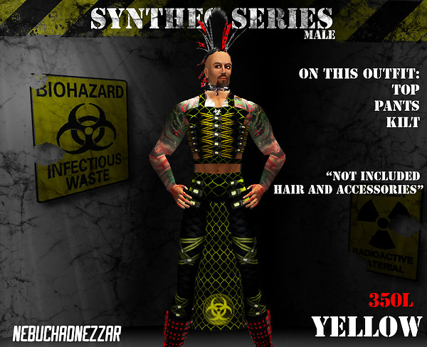 NDN - SynThec male yellow
