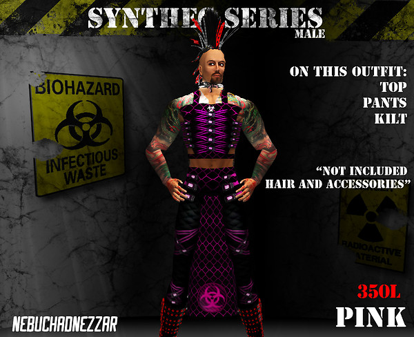NDN - SynThec male pink