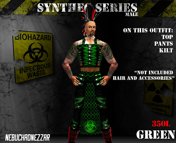NDN - SynThec male green