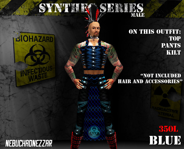 NDN - SynThec male blue