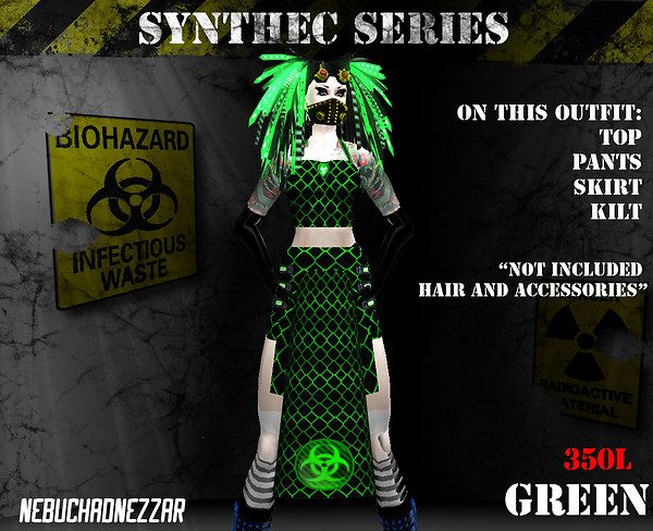 NDN - SynThec female green