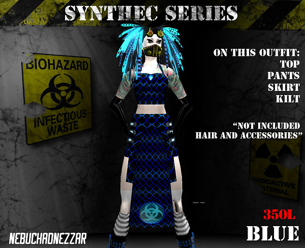 NDN - SynThec female blue