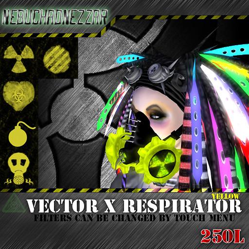 NDN - Vector X Respirator yellow