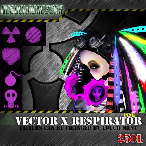 NDN - Vector X Respirator pink