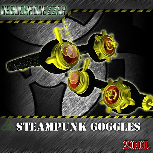 NDN - Steampunk Goggles