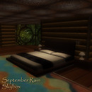 September Rain Skybox Interior Bedroom